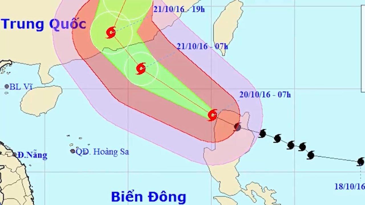 Tin Bão Số 8 Mới Nhất: Bão Số 8 Có Gió Giật Cấp 16 Tiến Vào Biển Đông
