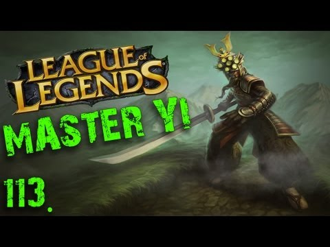 Zagrajmy w League of Legends: #113 Master Yi - OP na TOPIE?