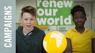 Renew our World: a light bulb moment