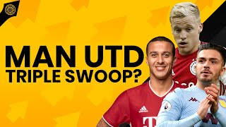 Van De Beek Done! | Thiago & Grealish Set To Follow? | News At Old Trafford