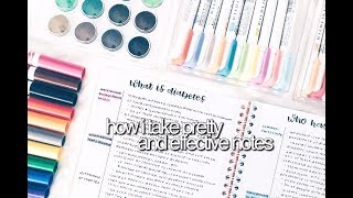 Gambar cover How I Take Pretty and Effective Notes || revisign