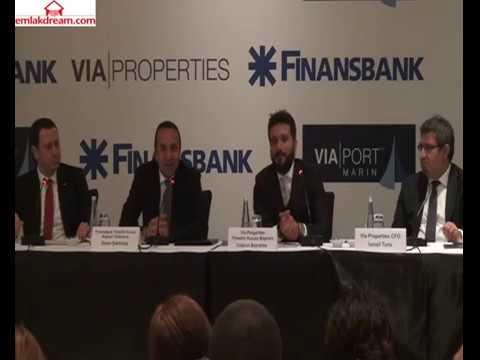 Via Properties & Finansbank basın toplantısı