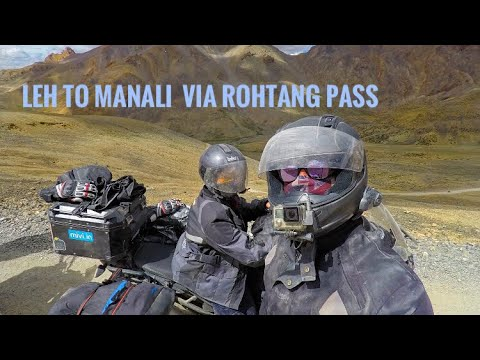 Leh to Manali by Road | ROHTANG PASS