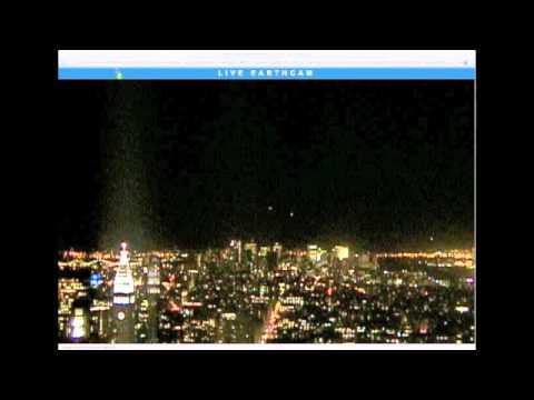 ufo traffic nyc webcam manhattan 11/11/2010