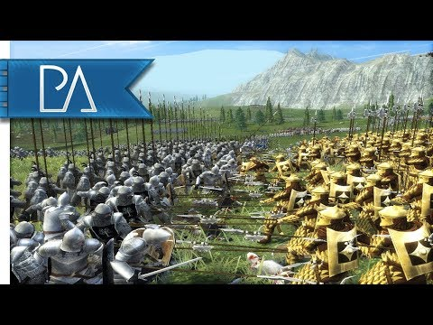 BATTLE OF DRAGONSPINE PASS - Lord of the Rings - Third Age Total War Reforged Mod Gameplay