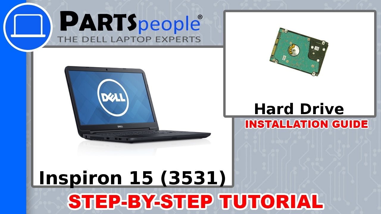 Dell Inspiron 15 (3531) Hard Drive & Caddy How-To Video Tutorial
