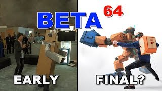 Beta64 - Project Giant Robot / Nintendo Labo (Robot Kit)??