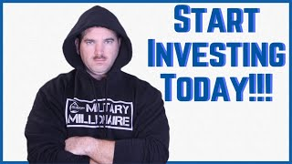 how to start investing today: Don't wait to invest, invest and wait!