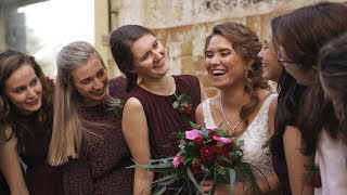 Trouwvideo Kasteel Wijenburg + Museum of Humanity / Weddingvideo Sabka Wedding Films