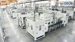 Manufacturing line for spool valve and valve housing