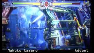 FFA AirDashers Tournament(8-8-10) BBCS M13 Makoto Camaro vs Advent