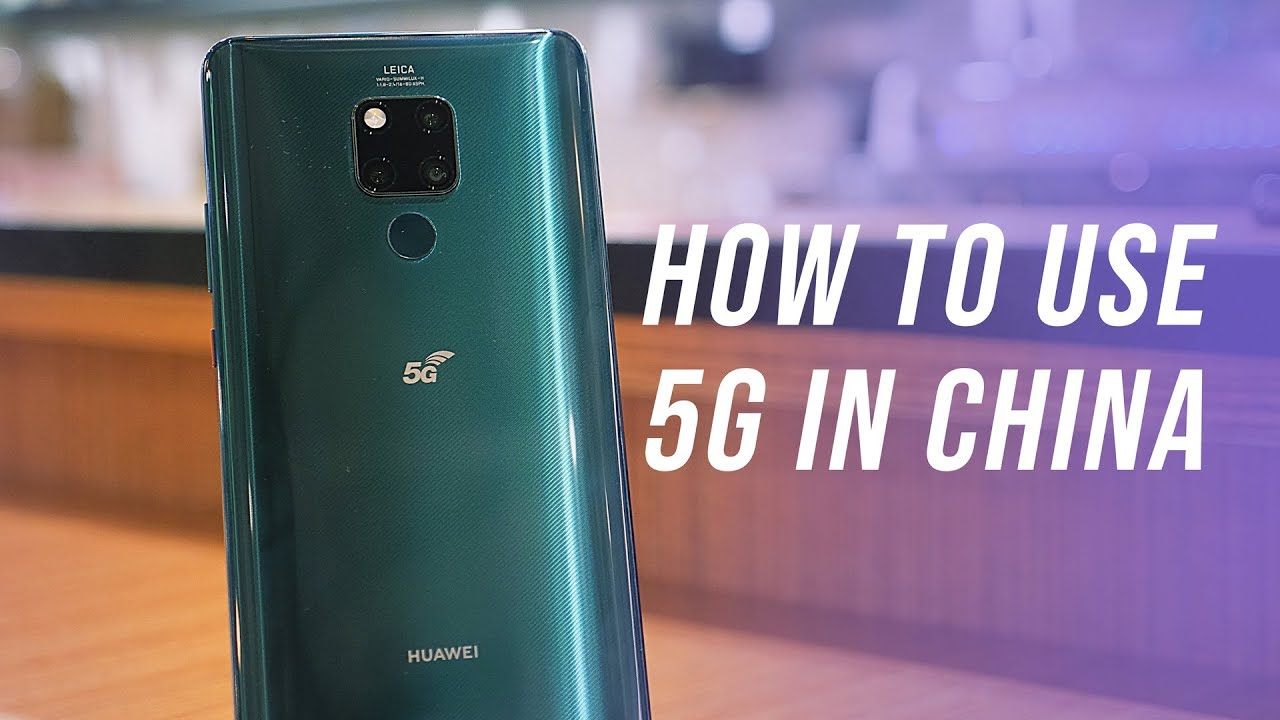 Huawei Mate 20 X 5G Edition - Crazy 900Mbps Download Speed!