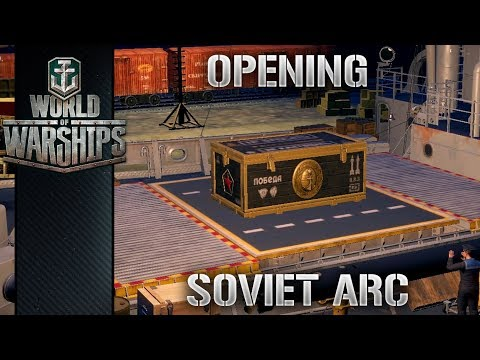 World Of Warships - Opening - Soviet Arc i Azure Lane