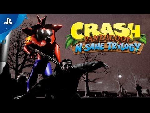 Crash Bandicoot N. Sane Trilogy - New Trailer: Craxi is back! | PS4