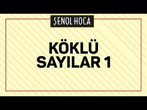 Köklü Sayilar 1 Şenol Hoca Matematik