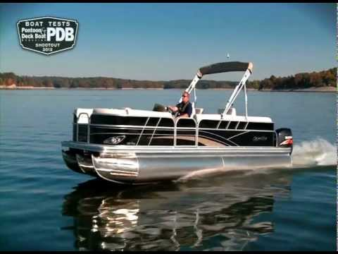 2012 Silver Wave Pontoon Show Video