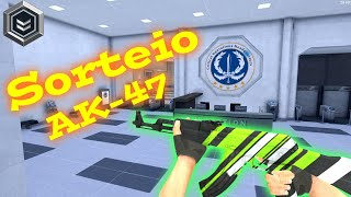 Sorteio  de uma Ak-47 Fkya (Critical  Ops)