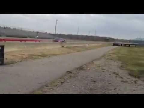 Steel drag strip