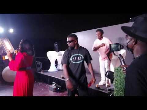 Sarkodie And Bosom P Yung At Kweku Smoke Snoop Forever Album Launch