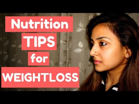 WEIGHTLOSS NUTRITION TIPS FOR BEGINNERS