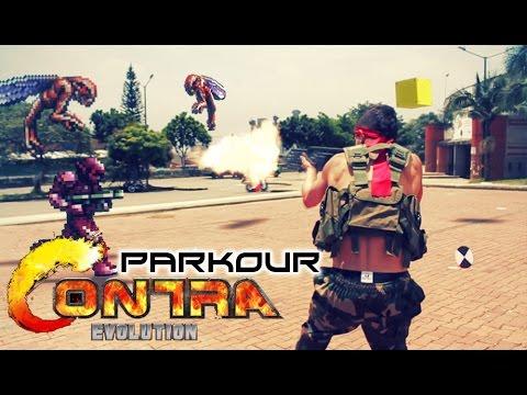 Epic Contra Parkour - Monterrey Gamers 2014 - Internautismo Crónico