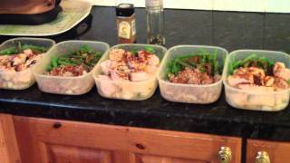 BODYBUILDING LUNCH FOR THE WHOLE WEEK