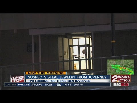 Suspects steal jewelry from JCPenney