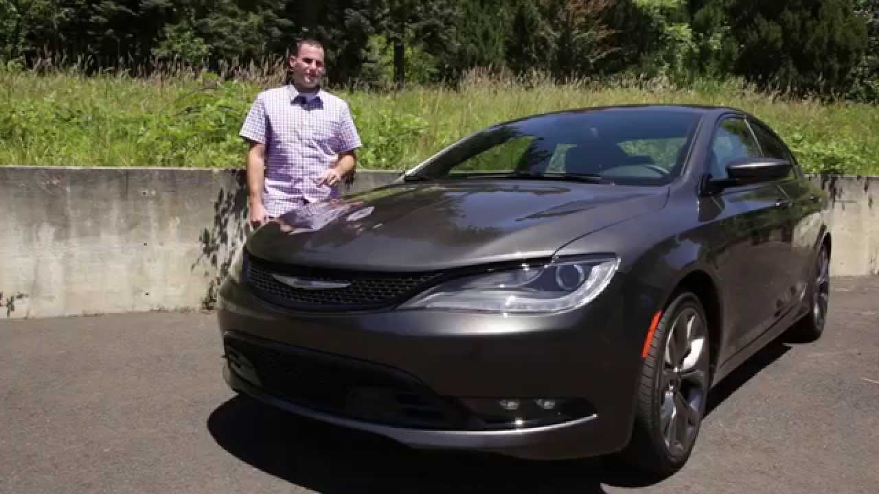 2015 Chrysler 200 Review Youtube
