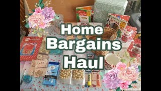 Home Bargains Haul - Inc Christmas items
