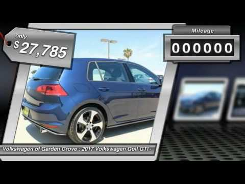 2017 Volkswagen Golf GTI Garden Grove CA HM043451 YouTube