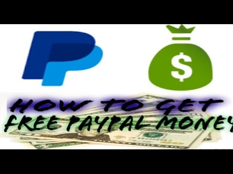 how to add free money to paypal