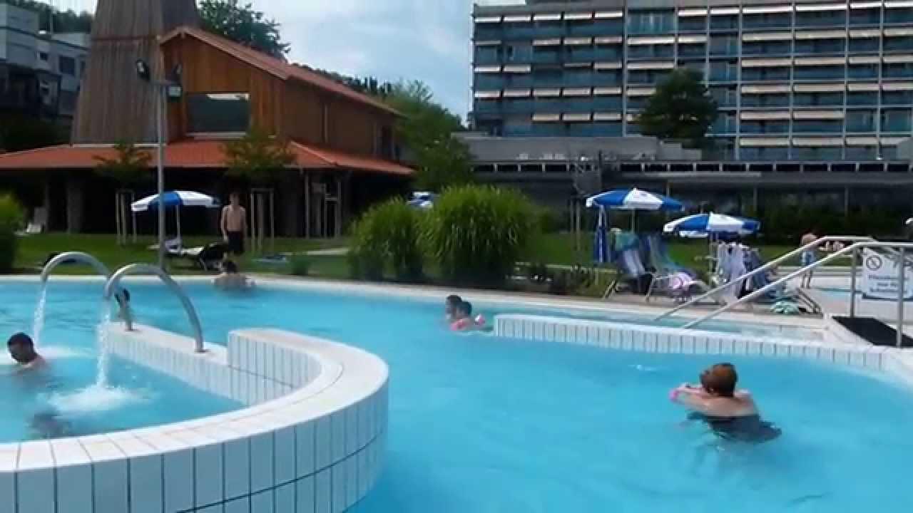 Bad Zurzach schwimmen, swim in Bad Zurzach Swiss - YouTube