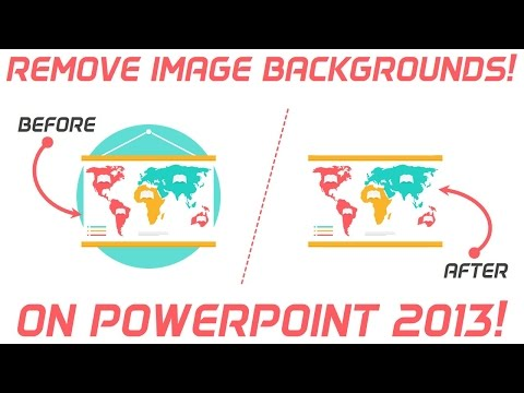 How to Remove Picture background on PowerPoint 2013 | PowerPoint Pro solutions tutorial video!
