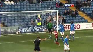 Stockport 1-1 Peterborough - The FA Cup 1st Round - 06/11/10