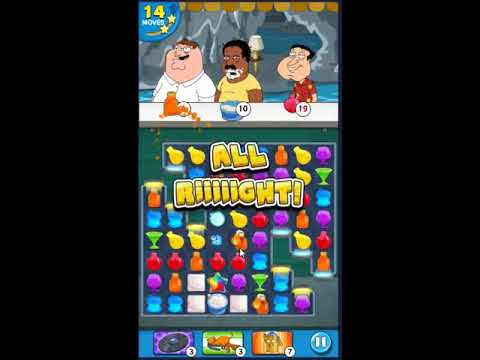 Family Guy Another Freakin Mobile Game Level 498 - NO BOOSTERS