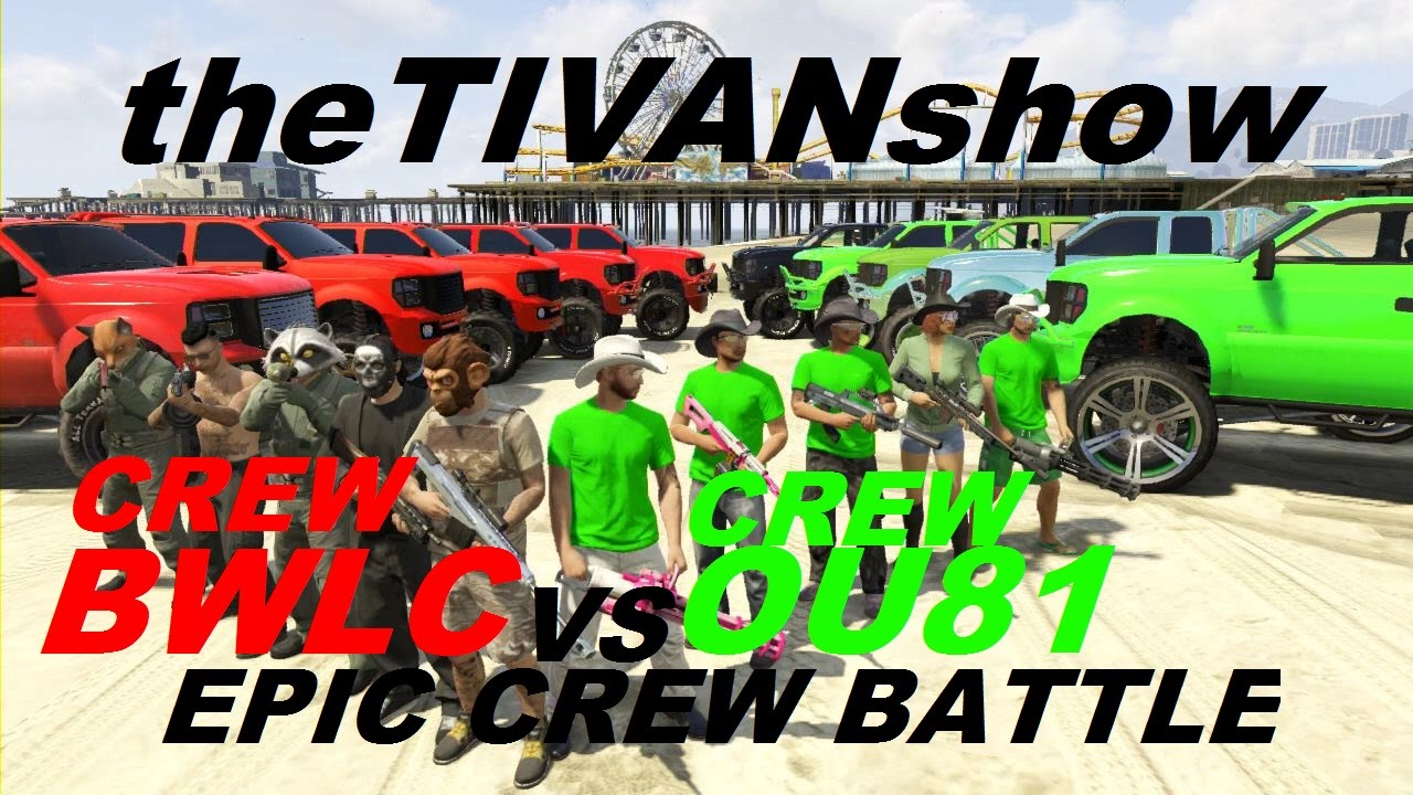 GTA5 EPIC CREW BATTLE FOR KING OF OFF ROAD