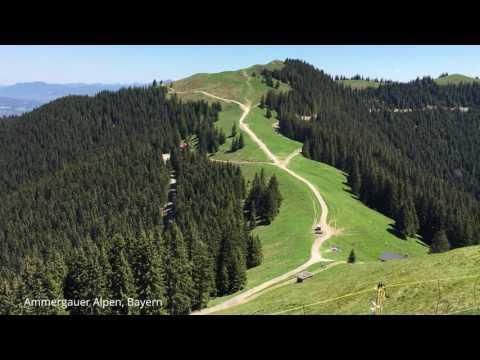 Ammergauer Alpen, Bayern