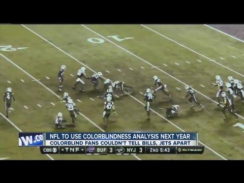 NFL responds to colorblind fans