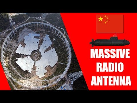 China Builds Massive Radio Antenna Facility to Communicate With Submarines