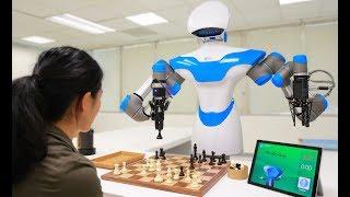 "ITRI shows OLED Lighting, Chess playing robot ""Turk"""