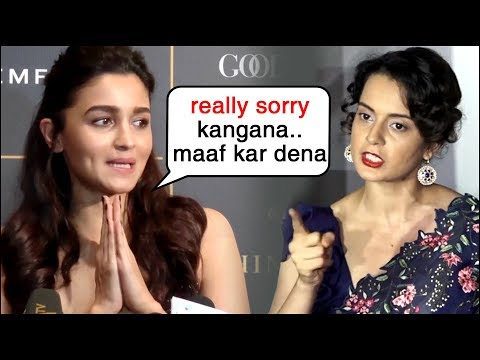 Alia Bhatt APOLOGISES To Kangana Ranaut For AVOIDING Manikarnika Mp3