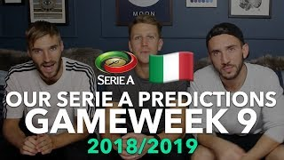 Serie A Tips - Gameweek 9 - 2018/2019