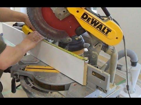 Baseboard Installation: How to Installing MDF Baseboards for Laminate Hardwood Floor Tips