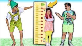 Franzinha quer ser alta e brincar no trampolim ♥ Kids wants to be taller & jump on a trampoline