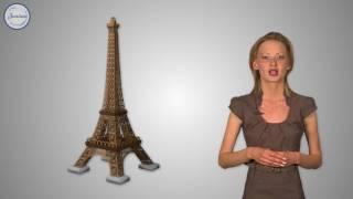 Французский 5 кл Париж и его Эйфелева башня
