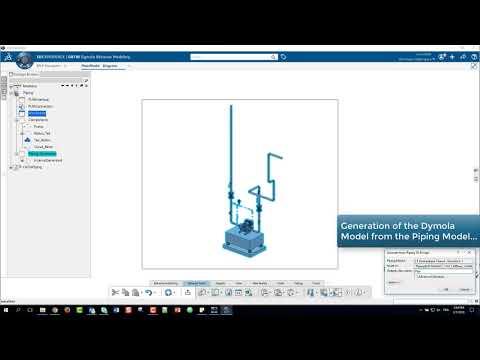 3DEXPERIENCE Dymola Fluidic Simulation
