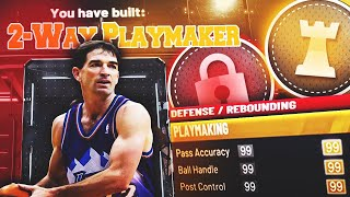 BEST TWO-WAY PLAYMAKER BUILD ON NBA 2K20! RARE BUILD SERIES VOL. 6