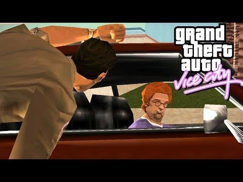 "MISJA KLUBU MALIBU: KIEROWCA ( ͡° ͜ʖ ͡°) Z GTA VICE CITY SINGLEPLAYER - ""+ TELEFON!"" #23 [PL/HD]"