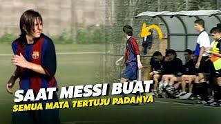 """""""PANTAS SAJA DISEBUT ANAK AJAIB"""" INilah Statistik GIla Messi Saat bermain untuK Barcelona Junior"""