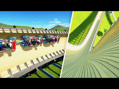 I finished this coaster with NO MONEY left in Planet Coaster  